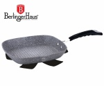 PATELNIA GRILL BERLINGER HAUS 28CM GRAY STONE TOUCH [BH-1163]