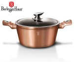 GARNEK 2.5L 20CM BERLINGER HAUS METALLIC LINE ROSE GOLD [BH-1514-N]