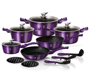 GARNKI BERLINGER HAUS METALLIC ROYAL PURPLE LINE 15 ELE [BH-1662-N]