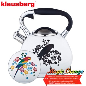 CZAJNIK STALOWY MAGIC CHANGE 2.7L KLAUSBERG [KB-7251]
