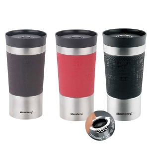 Thermobecher 380ml 360° Isolierbecher Travel Mug KLAUSBERG KB-7333