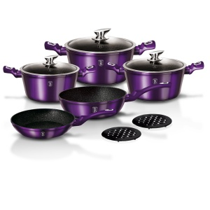 GARNKI BERLINGER HAUS 10 ELE METALLIC ROYAL PURPLE [BH-1661-N